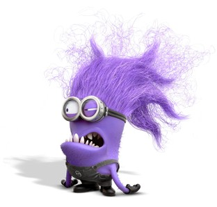 Purple Minion  sc 1 st  The Costume Detective & DIY Purple Minion Costume a.k.a. The Evil Minion