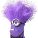 One Eyed Purple Minion