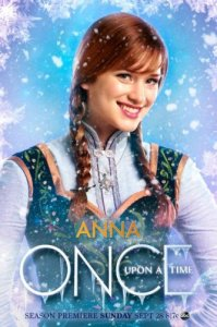Anna Once Upon a Time Poster