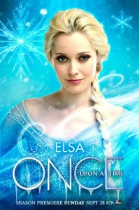 Elsa Once Upon a Time Poster