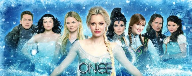 Once Upon a Time with Frozen Characters