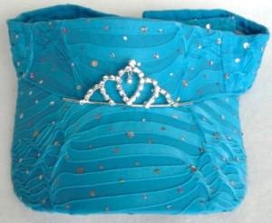 Turquoise Tiara Visor