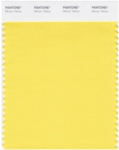 Pantone® Minion Yellow