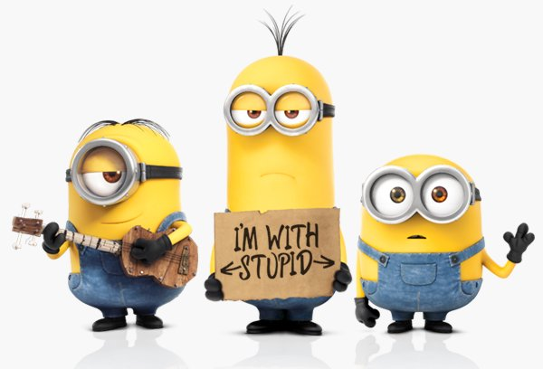 Yellow Minions Stuart Kevin and Bob