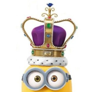 King Bob from the Minion Movie