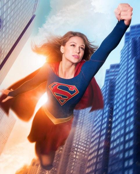 Empowering superhero costume from tv s supergirl