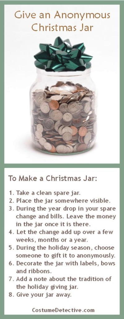 How to Make a Christmas Jar Infographic