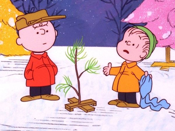 Charlie Brown, the Tree and Linus van Pelt