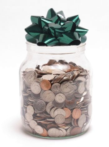 Christmas Giving Jar