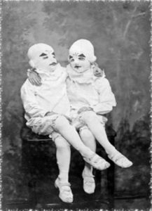 The Masked Ballerina Twins