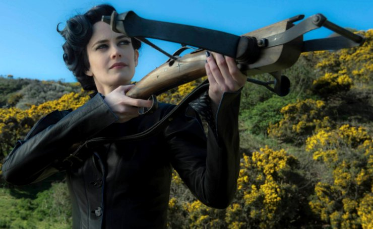 Miss Peregrine with her Crossbow