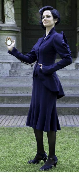 Miss Peregrine Blue Suit