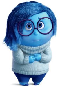 Sadness Sweater-based Costume from Disney Pixar Inside Out
