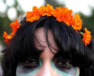 Cempasúchil Marigold Crown